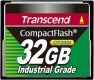 Transcend 32GB Industrial CF Card (200X) - TS32GCF200I