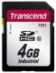 Transcend 4GB Industrial SDHC (100X Class 10) - TS4GSDHC100I