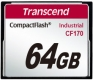 Transcend 64GB CF Card (170X) - TS64GCF170
