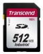 Transcend 512MB Industrial SD Card (100X) - TS512MSD100I