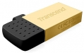 Transcend 16GB USB OTG JetFlash 380 Gold Plating - TS16GJF380G