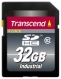 Transcend 32GB Industrial Wide-Temp SDHC (Class 10) - TS32GSDHC10I