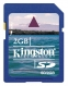 Kingston 2GB Secure Digital - SD/2GB