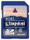 Kingston 4GB SDHC (Class 4) - SD4/4GB