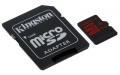 Kingston 32GB microSDHC UHS-I speed class 3 (U3) 90R/80W - SDCA3/32GB