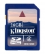 Kingston 16GB SDHC (Class 4) - SD4/16GB