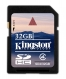 Kingston 32GB SDHC (Class 4) - SD4/32GB