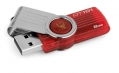 Kingston 8GB USB 2.0 DataTraveler 101 G2 Red - DT101G2/8GB