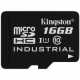 Kingston 16GB microSDHC Class 10 UHS-I Industrial - SDCIT/16GBSP