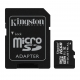 Kingston 16GB microSDHC Class 10 UHS-I Industrial with SD Adapter  - SDCIT/16GB