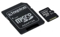 Kingston 128GB microSDXC Class 10 UHS-I Card with SD Adapter - SDC10G2/128GB