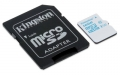 Kingston 16GB microSDHC Class 10 Action Camera UHS-I U3 Card with SD Adapter - SDCAC/16GB