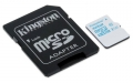 Kingston 32GB microSDHC Class 10 Action Camera UHS-I U3 Card with SD Adapter - SDCAC/32GB