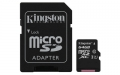 Kingston 64GB microSDXC UHS-I Class 1 (U1) Canvas Select with SD Adapter - SDCS/64GB