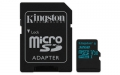 Kingston 32GB microSDHC UHS-I Class U3 Canvas Go! with SD Adapter - SDCG2/32GB