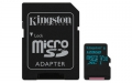 Kingston 128GB microSDXC UHS-I Class U3 Canvas Go! with SD Adapter - SDCG2/128GB