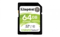 Kingston 64GB SDXC UHS-I Class 1 (U1) Canvas Select - SDS/64GB