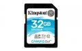 Kingston 32GB SDHC UHS-I Class U3 Canvas Go! - SDG/32GB