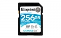 Kingston 256GB SDXC UHS-I Class U3 Canvas Go! - SDG/256GB