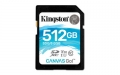 Kingston 512GB SDXC UHS-I Class U3 Canvas Go! - SDG/512GB