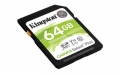 Kingston 64GB SDXC Canvas Select Plus 100R C10 UHS-I U1 V10 - SDS2/64GB