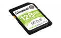 Kingston 128GB SDXC Canvas Select Plus 100R C10 UHS-I U3 V30 - SDS2/128GB