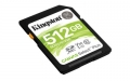 Kingston 512GB SDXC Canvas Select Plus 100R C10 UHS-I U3 V30 - SDS2/512GB