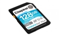 Kingston 128GB SDXC Canvas Go Plus 170R C10 UHS-I U3 V30 - SDG3/128GB
