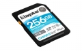 Kingston 256GB SDXC Canvas Go Plus 170R C10 UHS-I U3 V30 - SDG3/256GB