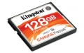 Kingston 128GB CompactFlash Canvas Focus up to 150R/130W UDMA7 VPG-65 - CFF/128GB
