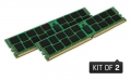Kingston 8GB 2133MHz DDR4 ECC CL15 DIMM (Kit of 2) 1Rx8 Intel - KVR21E15S8K2/8I