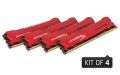 Kingston HyperX 32GB 1866MHz DDR3 Non-ECC CL9 DIMM (Kit of 4) XMP Savage - HX318C9SRK4/32