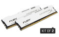 Kingston HyperX 16GB 2133MHz DDR4 CL14 DIMM (Kit of 2) 1Rx8 HyperX FURY White - HX421C14FW2K2/16