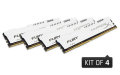 Kingston HyperX 32GB 2933MHz DDR4 CL17 DIMM (Kit of 4) 1Rx8 HyperX FURY White - HX429C17FW2K4/32