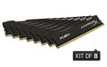 Kingston HyperX 64GB 2133MHz DDR4 Non-ECC CL14 DIMM (Kit of 8) FURY Black Series - HX421C14FBK8/64