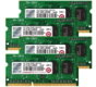 Transcend JetMemory 32GB Kit (4x8GB) 1600MHz DDR3 DR x8 SO-DIMM for Apple - TS32GJMA524H